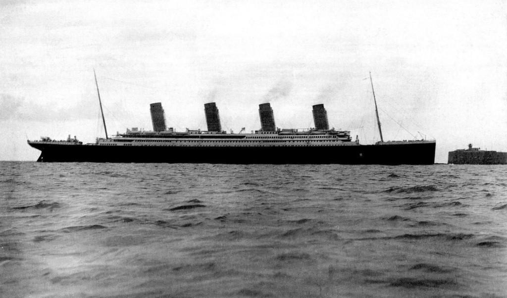 Титаник в Шербуре