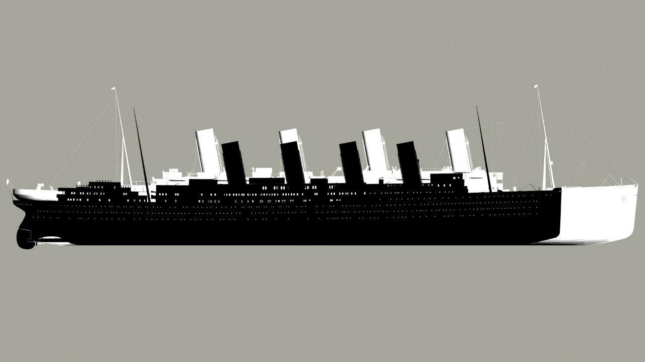 Сравнение Титаника с другими 8
