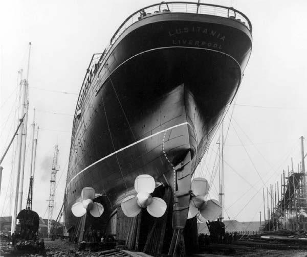 Сравнение Титаника с другими судами3