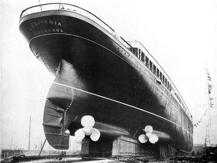 Сравнение Титаника с другими судами4