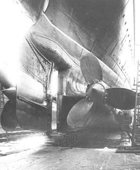 Сравнение Титаника с другими судами5