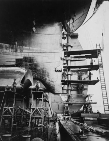 Сравнение Титаника с другими судами7