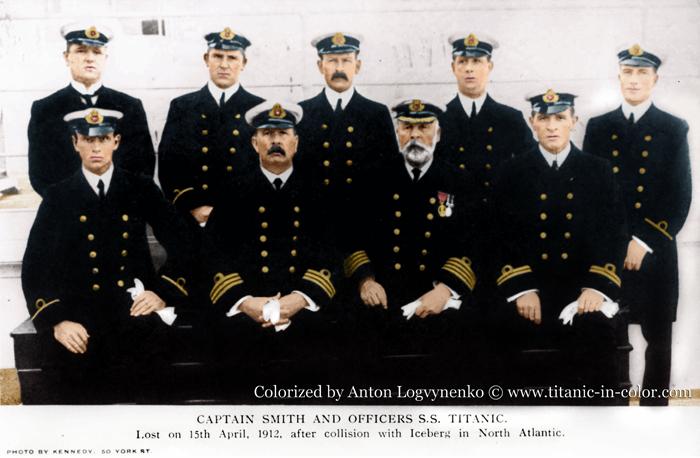 Команда Титаника