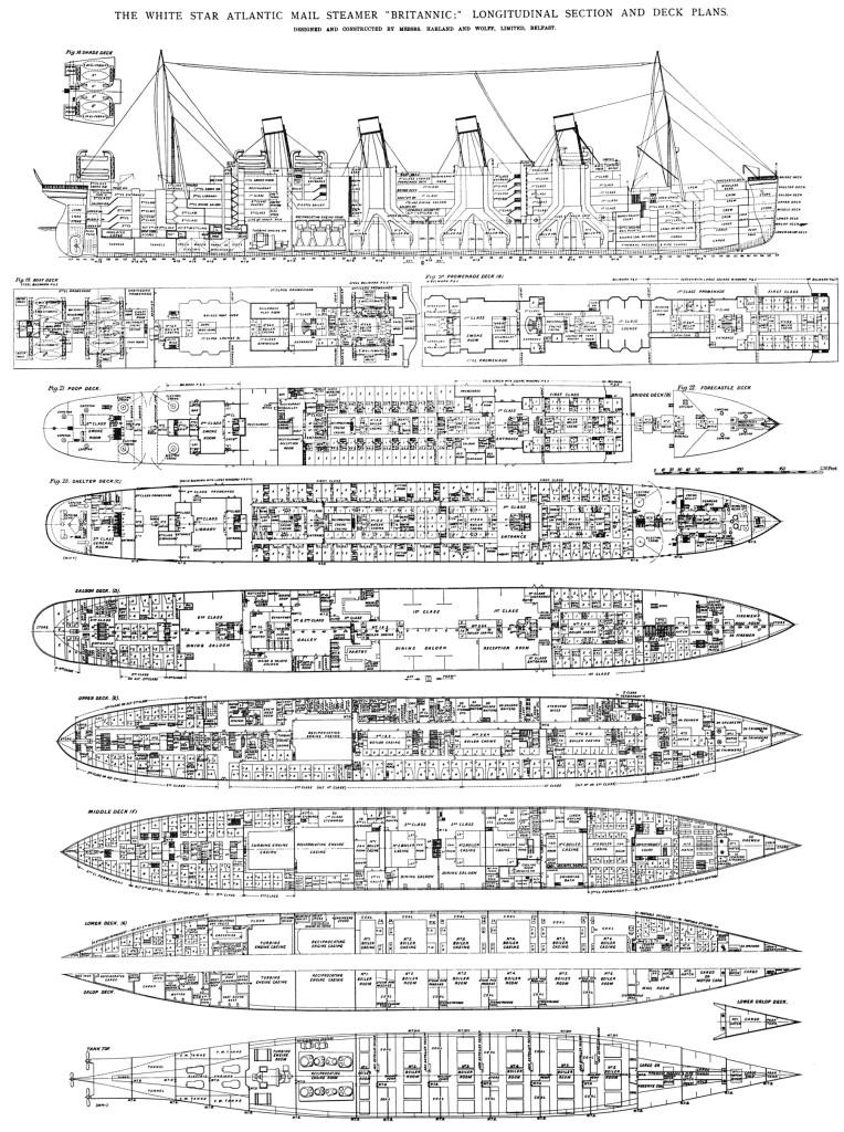 Палубы Британника