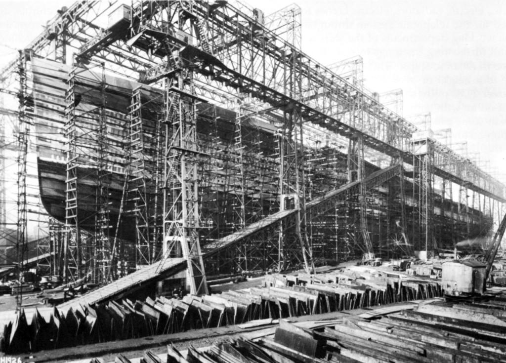 Строительство Британника