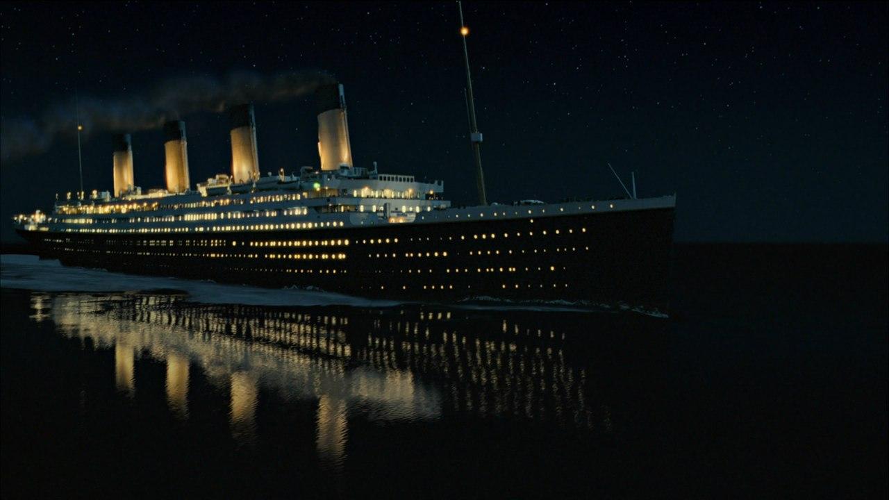 """""""Титаник"""" в фильме Джеймса Кэмерона."""