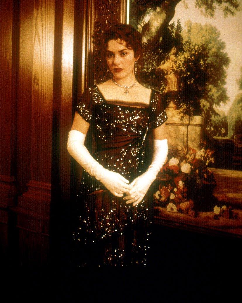 """Кейт Уинслет на промо-фото к """"Титанику"""""""