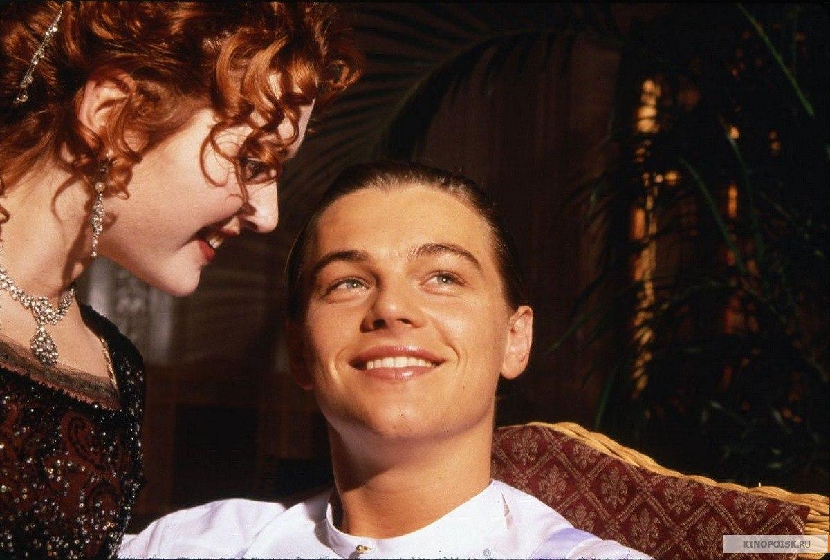 """Кейт и Лео в промо к """"Титанику"""""""