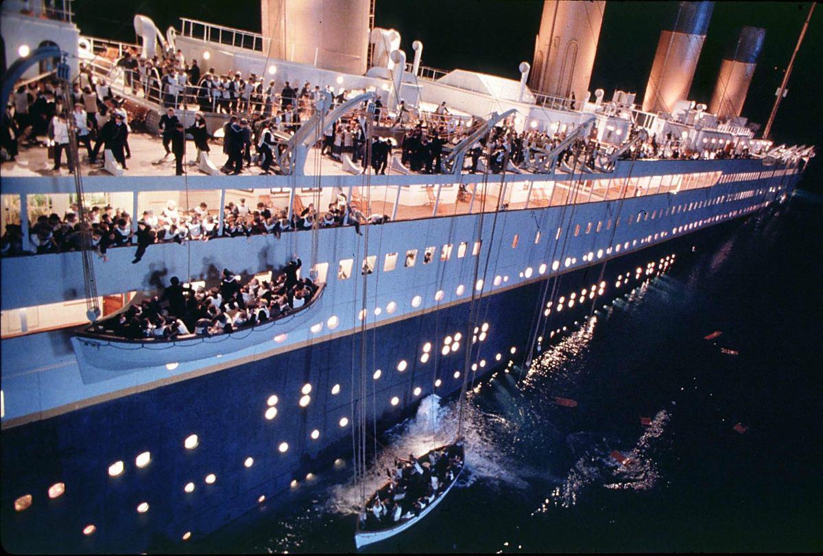 Кадр из фильма Джеймса Кэмерона.