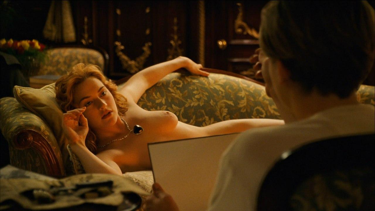 """Кейт и Лео в сцене """"Портрет""""."""