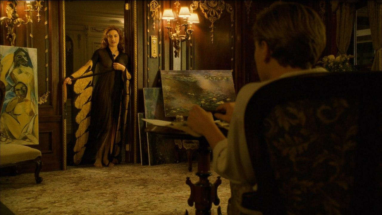 """Кейт Уинслет в сцене """"Портрет""""."""