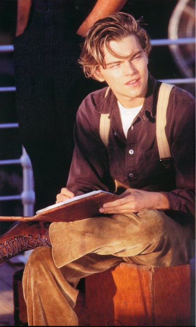 Леонардо ДиКаприо в роли Джека Доусона.