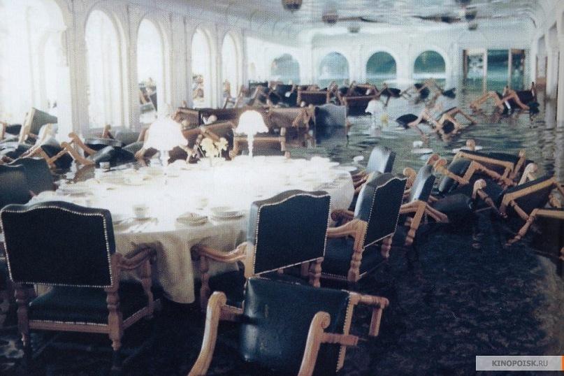 Декорация обеденного зала 1 класса.