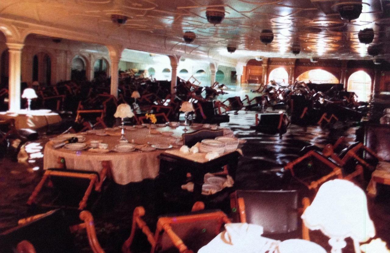 Затопление обеденного зала 1 класса.